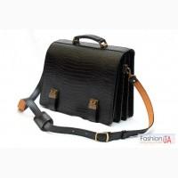 Кожаные портфели, ручная работа