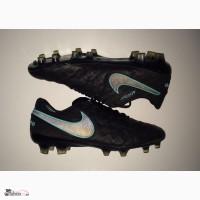 42.5 розм Nike Tiempo ПРОФИ футбольні бутси копочки не Adidas сороконожки