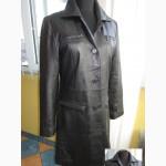 Женская кожаная куртка -плащ EDITION De LUXE. Франция. Лот 329