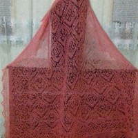 Продам оренбургский платок ручной работы