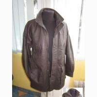 Большая кожаная мужская куртка SMOOTH. США. Лот 1029