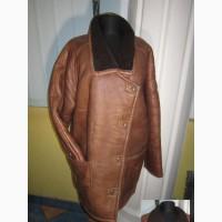 Большая натуральная женская дублёнка Collection Leder. Германия. Лот 101