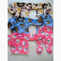 Пижама детская велсофт. Детская теплая пижама в Украине