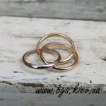 Обручальные кольца Trinity de Cartier (Картье Тринити)