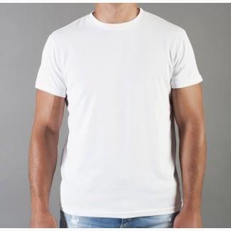 Футболка мужская белая, черная, серая, хлопковая. Мужская футболка