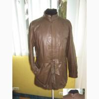 Кожаная мужская куртка с поясом. Германия. Лот 637