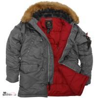 Супер теплые стильные зимние куртки - легендарная модель N-3B Аляска из США