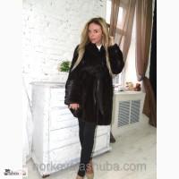 Норковая шуба модель халат