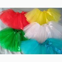 Юбка для девичника, танцев, праздников цветная