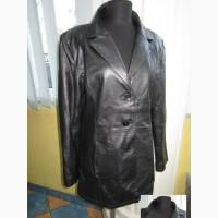 Женская кожаная куртка-пиджак Fabiani. Германия. Лот 104