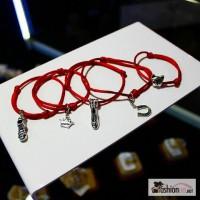 Красная нить с подвеской/ без подвески + Бесплатная доставка