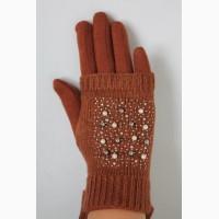 Перчатки и митенки 2 в 1 -ом, теплые