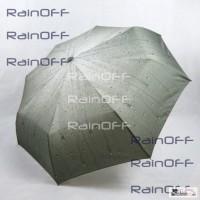 Компактный складной зонт автомат Мокрое Стекло