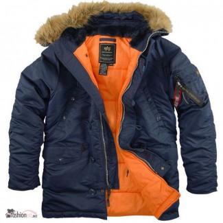 Официальный дилер Alpha Industries в Украине предлагает куртки Аляска (США)