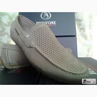 РАСПРОДАЖА Мужская обувь летние мокасины BERTONI