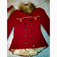 Куртка для девочки дизайнерская в стиле Пиратский Камзол, S разм