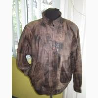 Большая кожаная мужская куртка ECHT LEDER. Германия. Лот 541
