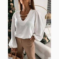 Женская Стильная/блузка Турецкий супер-софт