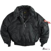 Оригинальные лётные куртки пилотов США от Alpha Industriers Inc. USA