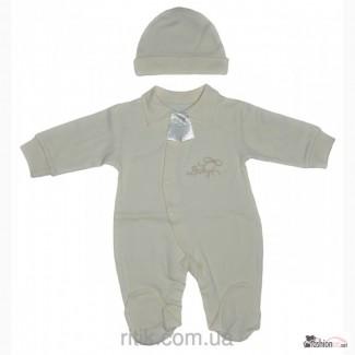 Комплект Baby с галстуком ТМ Happy Tot интерлок