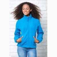Флисовая курточка женская на молнии