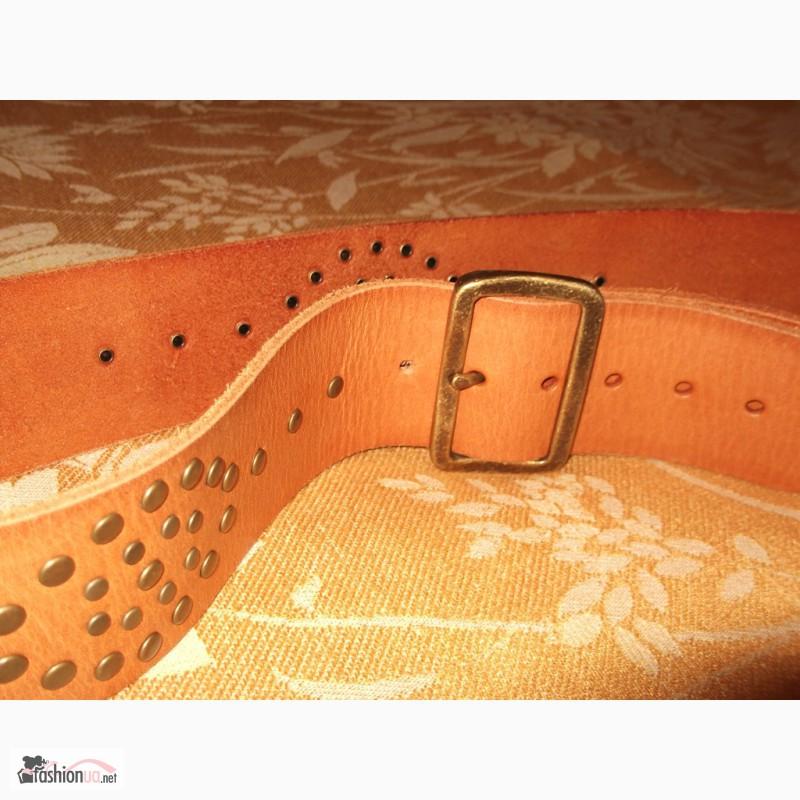 Фото 3. Ремінь шкіряний Accessories, 105 см