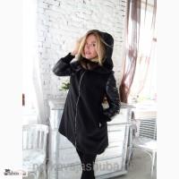 Шикарное кашемировое пальто и норка