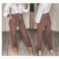 Брюки женские с карманами Классика В размере - Норма и Батал