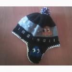 Оригинальная мужская шапка с жаккардом