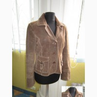 Молодёжная женская кожаная куртка - пиджак IK Selection. Лот 927