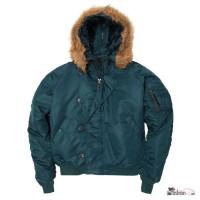 Теплые зимние куртки - N-2B Parka - короткая Аляска от Alpha Industries, USA