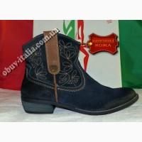 Ботинки женские замшевые фирмы pusay w оригинал италия