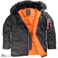 Американские куртки Аляска фирмы Alpha Industries Inc. USA