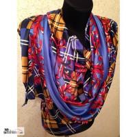 Шелковый шарф, разные расцветки