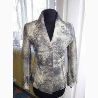 Супермодная женская кожаная куртка - пиджак OTTIMO. Турция. Лот 900