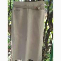 Молодежная юбка из натуральной ткани