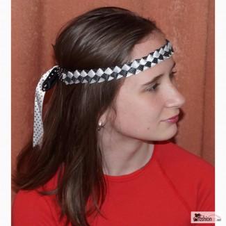 Повязки на голову с атласной ленты