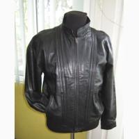 Лёгкая кожаная мужская куртка CA. Лот 540