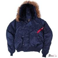 Куртки Аляска короткие Alpha Industries N-2B Parka (США)