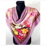 Платок из шелка, различные расцветки