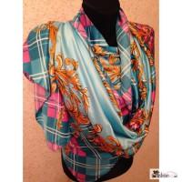 Шелковые шарфы, цвета в ассортименте