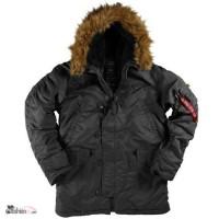 Классические мужские супер теплые куртки N-3B Parka Аляска из США
