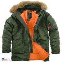 Куртки Аляска Alpha Industries, USA с бесплатной доставкой по Украине