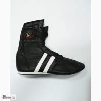 Боксерки, обувь для бокса, натуральная кожа