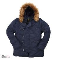 Мужские зимние куртки ВВС США-N-3B Parka -Аляска от Alpha Industries