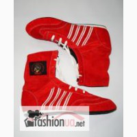 Боксерки, обувь для бокса, натуральная замша