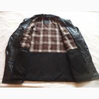 Большая утеплённая кожаная мужская куртка JC Collection. Лот 611