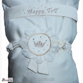 Одеяло с кружевом Happy TOT