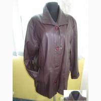 Лёгенькая женская кожаная куртка GAZELLI. Италия. Лот 890