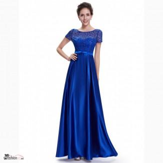 Великолепное яркое вечернее платье